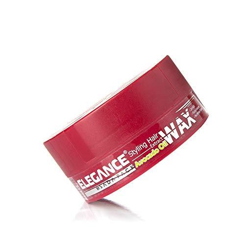 ELEGANCE HAARWACHS AVOCADO mit hochwertigem Öl Extrakt für ein vitales und kräftiges Haar - Pflegendes und Stylisches Haarwachs zugleich für Herren und Frauen - 140ml