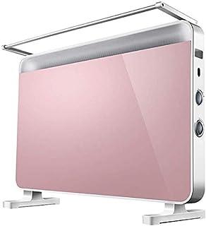 SSCEEL Panel de calefacción eléctrica Baño Inteligente Caja Fuerte 2200W, 3 configuraciones de Calor y Apagado de Seguridad, Radiador Plano de convección para el hogar