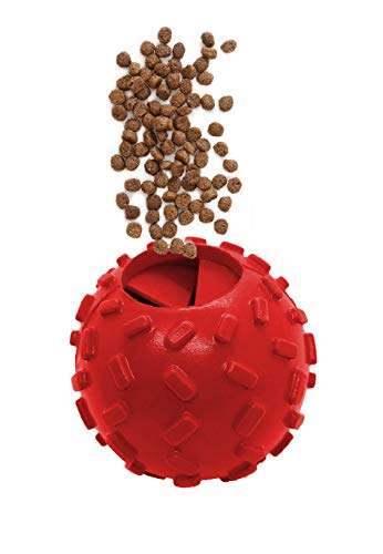 Northern Bark, Buy 1 and We Donate Additional 1 to Pet Shelter, Treat Dispensing Ball, Natural Rubber, Aggressive Chewers