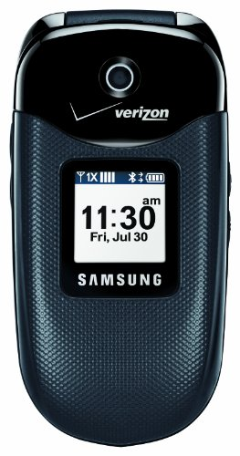 Samsung Gusto, Black (Verizon Wireless)
