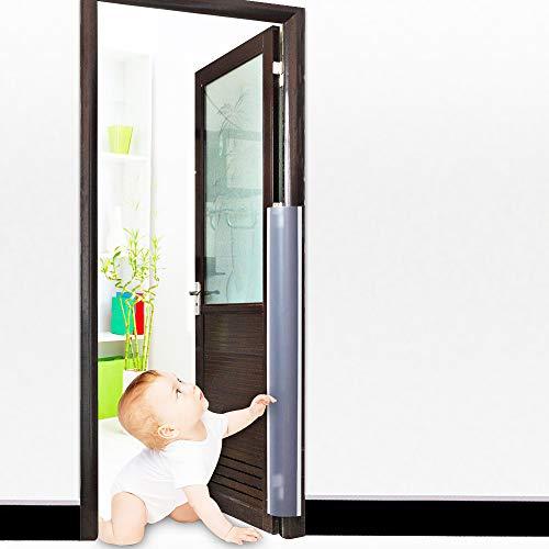 ドア 指はさみ 指ブロック ドア 挟み防止 器具 フィンガーガード 隙間カバー 内外セット 長さ120cm 指はさみ防止 安全対策 (17cm ×120cm*2枚)