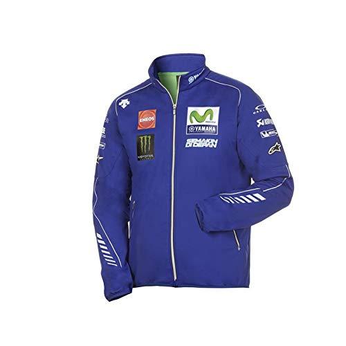 Generico Felpa con Cappuccio E TASCONE Ispirata Yamaha Factory Racing AKRAPOVIC MOVISTAR Michelin Moto GP 46