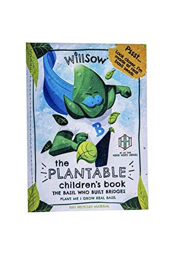 Willsow Grow Your own herb Garden Children's Story Book - Unusual Gift -...