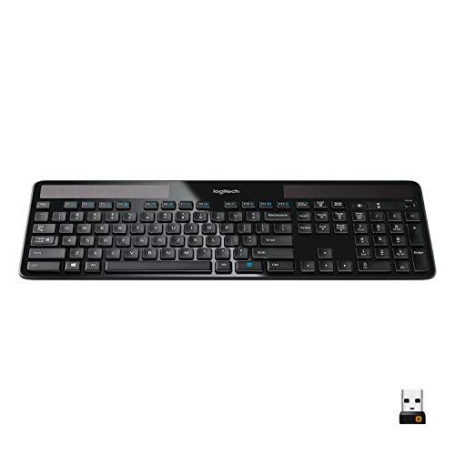 Quiet wireless keyboard