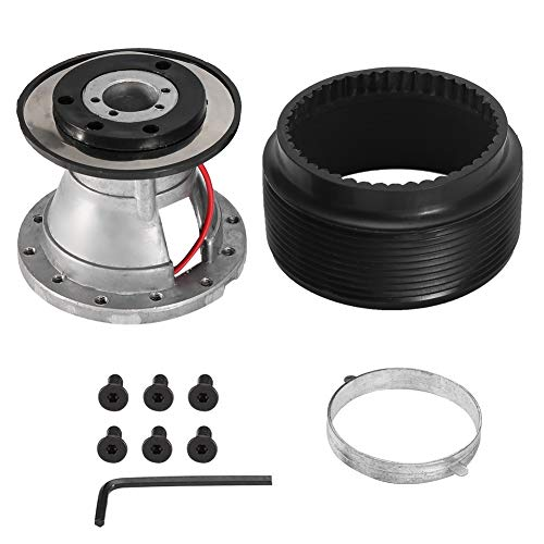 Buy Steering Wheel Hub, Aluminum Alloy Car Steering Wheel Hub Quick Release Adapter Kit for Toyota S...