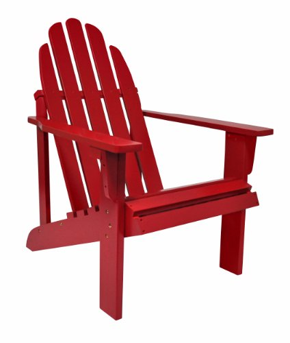 Shine Company Inc 4613CP Catalina Adirondack Chair, 25.75L x 33W x 36H, Chili Pepper