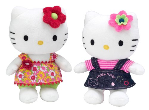 Augusta du Bay - 150634 - Peluche - Hello Kitty 4 Saisons -Assortiment