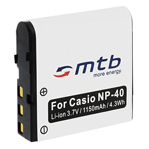 Batteria NP-40 per Casio Exilim EX-FC. / P. / Z. + vedi lista!