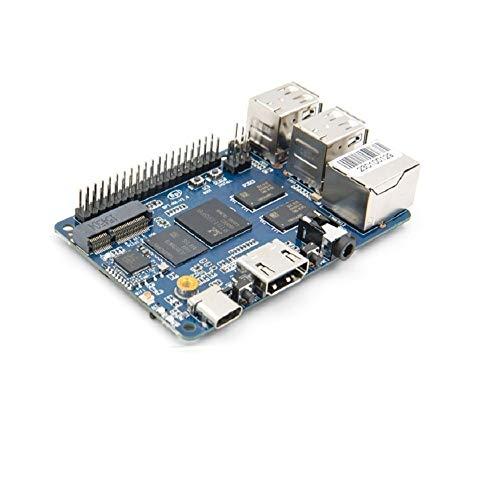 Der mit Realtek RTD1395 SoC ausgestattete Banana Pi BPI M4 unterstützt das PoE Network Route-Netzteil und das 64-Bit-Entwicklungsboard mit M.2-Steckplatz 4