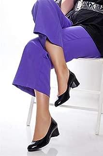 TARÇIN Hakiki Deri Klasik Günlük Kadın Topuklu Ayakkabı TRC71-0057