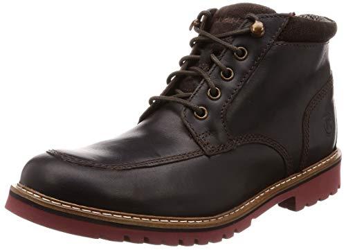 Rockport Marshall Rugged Mock Toe Boot, Bottes & Bottines Classiques Homme, Marron (Dark Bitter Chocolate Dark Bitter Chocolate), 40.5 EU