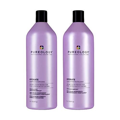 Pureology Hydrate Moisturizing Shampoo & Conditioner Bundle...