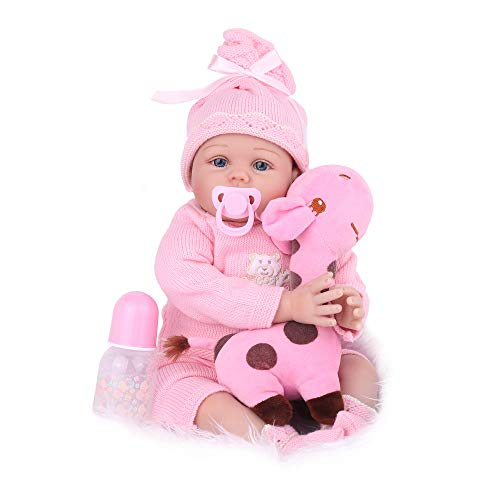 CHAREX Reborn Baby Dolls 22 Inch Lifelike Real Baby Girl Doll X-mas Birthday Gift for Age 3+