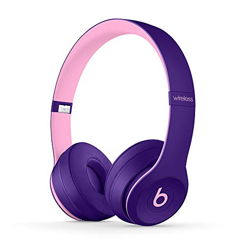 Beats by Dr. Dre Beats Solo3 Wireless On-Ear Bluetooth Headphones (Pop Violet) - Kit with USB Adapter Cube