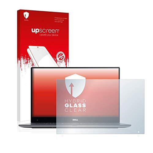 upscreen Hybrid Glass Panzerglas Schutzfolie kompatibel mit Dell XPS 13 9360 QHD Touch 9H Panzerglas-Folie