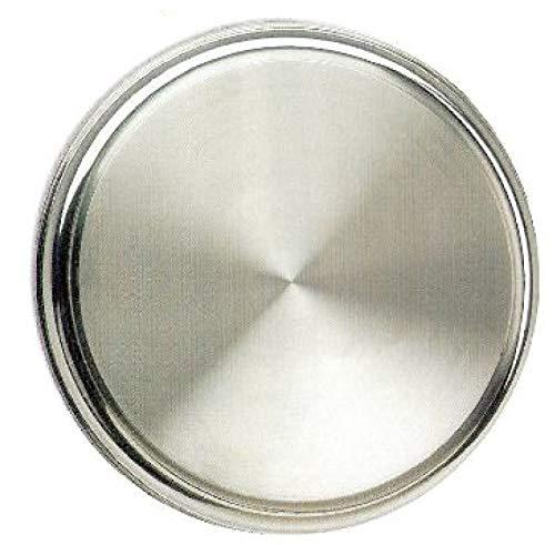 Supreminox extremos redondos Oval bandeja, acero inoxidable, plata, 30x 40x 30cm