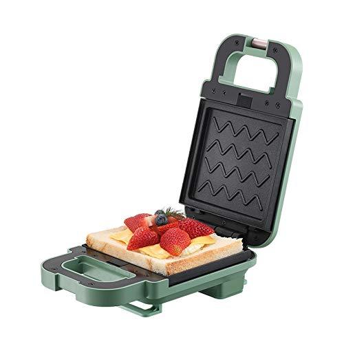 Sandwichmaker Waffeleisen,Ultrakompakter Sandwich-Toaster,Waffel Sandwich Maker multifunktionale Haushaltsbrot Frühstück Backzubehör
