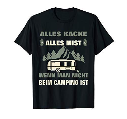 Lustiges Wohnwagen Camper Camping Zelt Geschenk T-Shirt