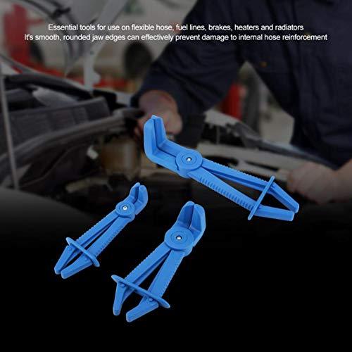 ABS-Kunststoff-Leitungszange Isolierender komfortabler Griff für Kraftstoffleitungen von Bremsen(blue)