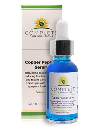 Copper Peptide Face Serum Collagen - With Anti Aging Skin Solutions...