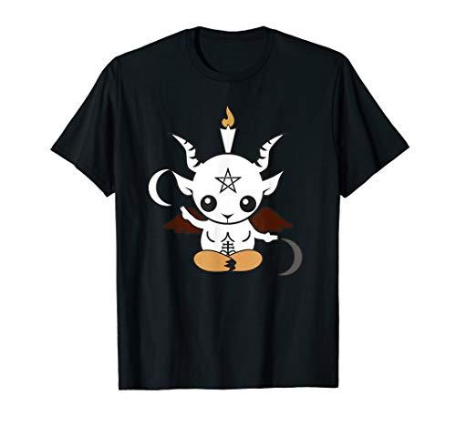 Goat Baphomet Shirt - Occult Satanic Lucifer Gift Women Men T-Shirt