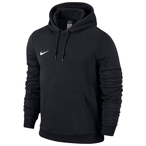Nike Herren Kapuzenpullover Team Club, Schwarz (Black/White), XL