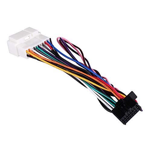 BASIKER Fit for 1998 to 2011 Hon-da and Acura Vehicles Wiring Harness to Install an Aftermarket Stereo Radio Receiver