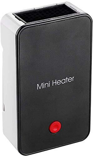 ZP-Heater Calentador Alimentado por batería, silenciador portátil, silencioso, Seguro, Soporte Oculto, Interruptor de un Toque, Uso del Mouse, Mano cálida en la Oficina/hogar