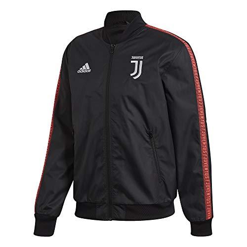 Adidas Juventus Anthem Jacke 2019-20, Schwarz - Schwarz - Mittel