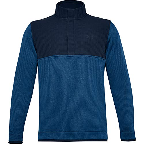 Under Armour Suéter de golf Storm SF 1/2 Snap Strech repelente al agua para hombre 2020 Storm SF