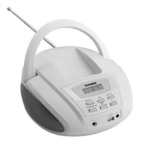 Telefunken R1008M MP3-Radio weiß