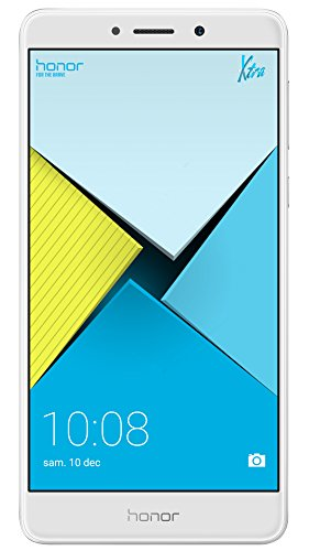 Honor 6X Smartphone (13,97 cm (5,5 Zoll) Full HD Display, 32 GB Speicher, Android) silber
