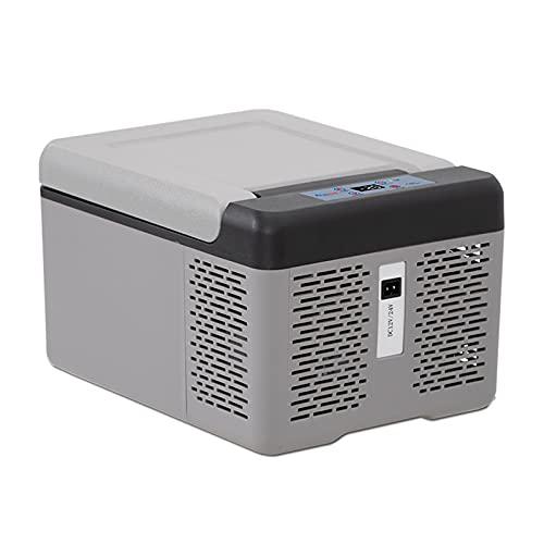 SDFD Mini refrigerador de automóviles eléctrico, refrigeración de compresión de bajo Ruido y congelador de Ahorro de energía, Adecuado para el Almacenamiento de Bebidas para el hogar y el Viaje