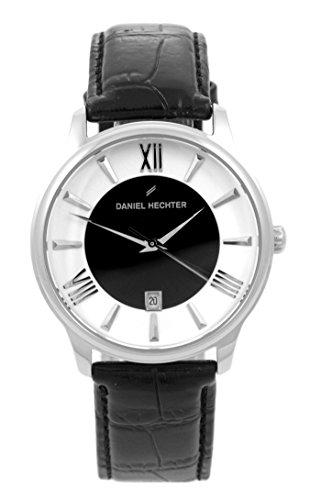 Daniel Hechter Damen-Armbanduhr Analog Quarz Leder DH07121BNR