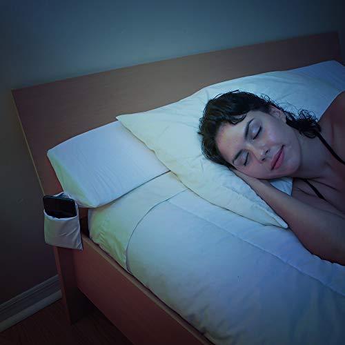SnugStop Bed Wedge Mattress Filler Wedge (King) Headboard Pillow Gap Filler Between Your Headboard and Mattress Don't Lose Your Pillow