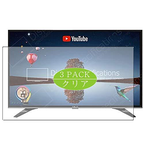 VacFun 3 Piezas HD Claro Protector de Pantalla Compatible con Nevir NVR-9000-32RD2S-SM TV 31.5', Screen Protector Película...