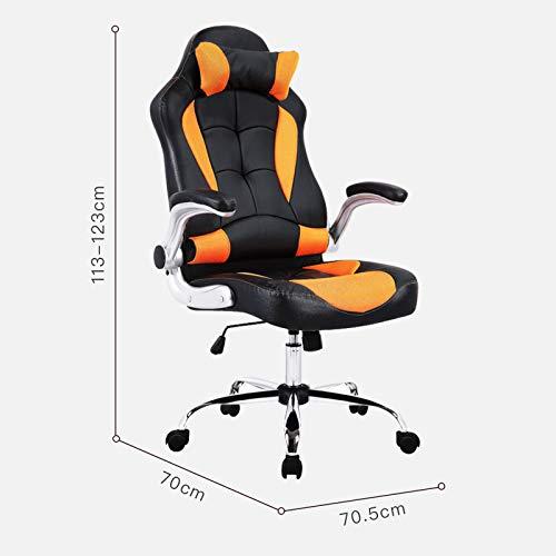 mecor Gaming Stuhl Racing Stuhl Leder Bild 2*