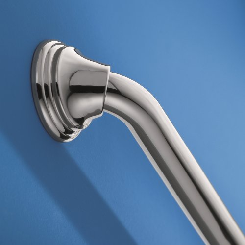 Moen 8716 Home 16-Inch Bathroom Grab Bar, Stainless
