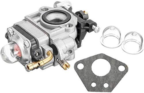 Reemplazar portátil carburador pieza del motor for 43cc 47cc 49cc 50cc 2 Tiempos bolsillo vespa de la bici MAKITA DBC260L Desbrozadora moto carburador Carb con la junta del bulbo de la moto carburador