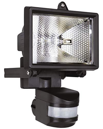 Smartwares ES120 Halogenstrahler mit 110° Bewegungsmelder, 120 W (2250Lumen), spritzwassergeschützt IP44