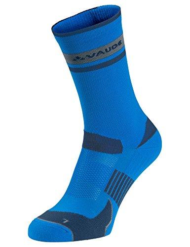 VAUDE Damen Socken Bike Socks Mid, radiate blue, 36-38, 401359460360