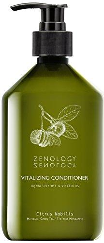 ZENOLOGY Après-Shampoing Revitalisant Citrus Nobilis Thé Vert Mandarine, 500 ml
