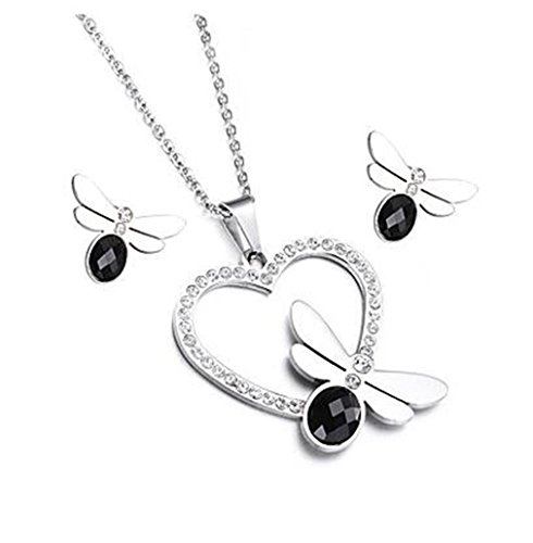 GYJUN Fashion bijoux collier pendentif et boucles d'oreilles ensembles pour les femmes , one size