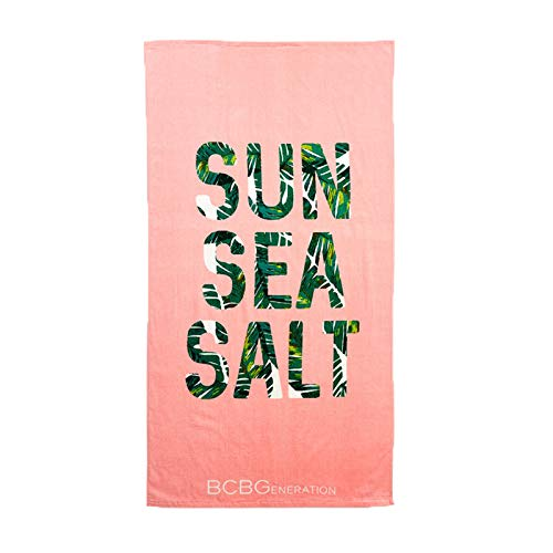 BCBGeneration Sun Sea Salt Strandtuch, Rosa