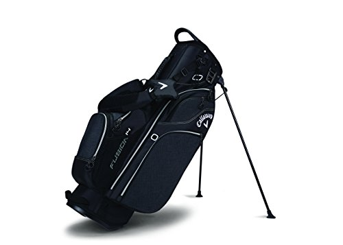 Callaway Golf Fusion 14 Stand Bag Stand / Carry Golf Bag 2017 Fusion 14-Way Divider Top Black/Silver/White