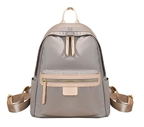 HMMHHE Viaje portátil Mochila Mochila Ligera Moda Daypack Bolsas de Hombro para Mujeres y niñas (Albaricoque, 12 litros) (Color : Apricot, Size : 12 Liters)