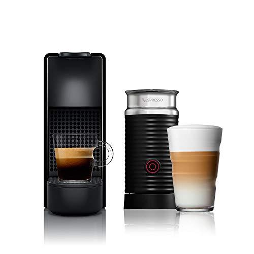 Nespresso Essenza Mini Combo Preta 220V + Aeroccino 3