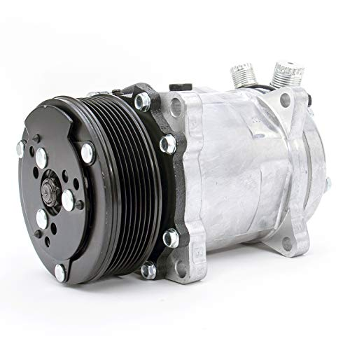 FKG AC Compressor and A/C Clutch CO 9537C SD508 fit for 1985-1990 Jeep Wrangler
