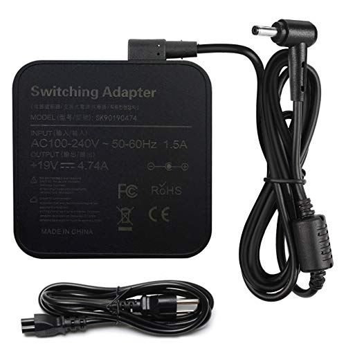 New 90W AC Adapter Laptop Charger for Asus N56V N56VJ K53E K55A Q550L...