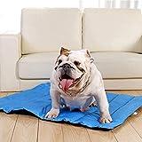 Raxinbang Camas de Perro Almohadilla De Enfriamiento for Mascotas Impermeable Oxford Plegable Viaje Portátil Colchón for...